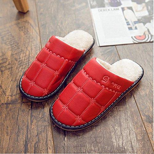Pantoufles en coton Pantoufles antidérapantes en hiver ( couleur : N ° 3 , taille : 38-39 ) # 1