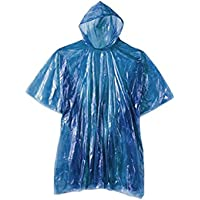 Simply Gorgeous 10 X Emergency Rain Poncho Waterproof Coat Cape Mac Disposable Or Reusable Festival, Camping, Theme…
