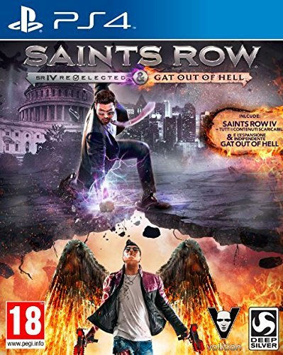 Publisher Minori Sw Ps4 1007623 Saints Row IV:Gat by Deep Silver