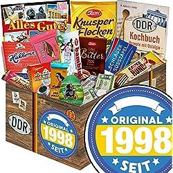 Original seit 1998 | DDR Geschenkbox Schokolade | Schokoladen Geschenkset L | Maulwurf, Viba, Zetti Bambina | Präsentkorb Geburtstag Schokoladen Geschenkset Geschenk Schokolade Korb