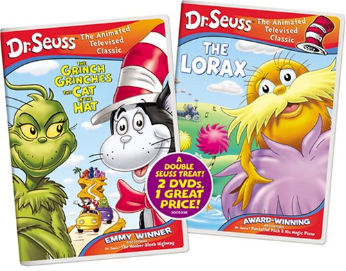 The Grinch Grinches The Cat In The Hat / The Lorax (2 DVDs)