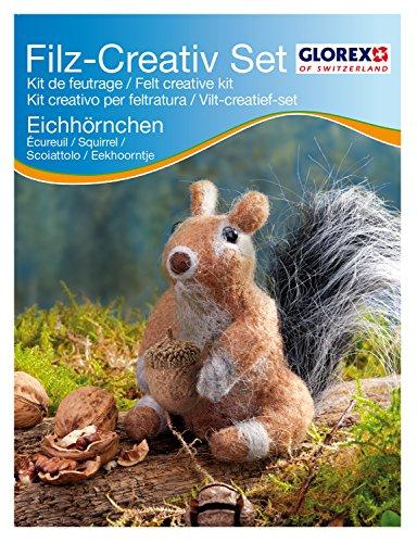 Filz 62905916 – Creativ-Set, Eichhörnchen