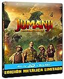 Jumanji: Bienvenidos A La Jungla (BD 3D + BD) - Edición Especial Metal Limitada [Blu-ray]