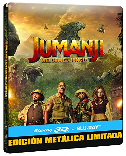 Jumanji: Bienvenidos A La Jungla (BD 3D...