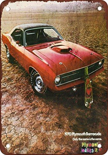 1970-plymouth-barracuda-vintage-look-reproduccion-metal-tin-sign-8-x-12-pulgadas