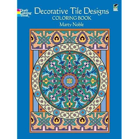 Dover Publications-Decorative Tile Designs Coloring