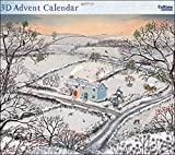 Grande calendario dell' avvento–(WDM419386)–Midwinter Morning–dalla serie Caltime–Glitter Varnish