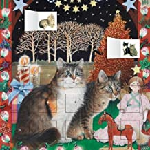 Ivory Cats - An American Christmas advent calendar (with sti