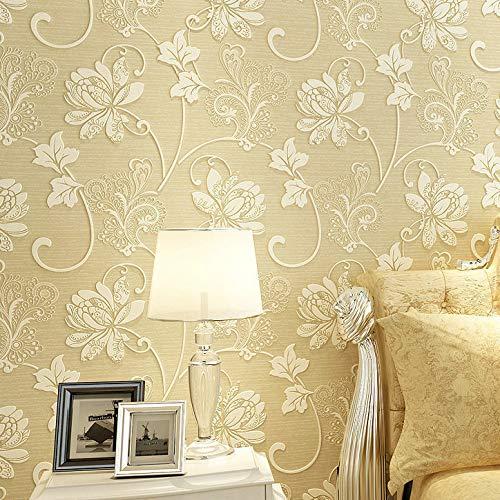 Selbstklebende Tapete, glattes wasserfestes Tapetenpapier, selbstklebend weiß [selbstklebend 1 Meter] -