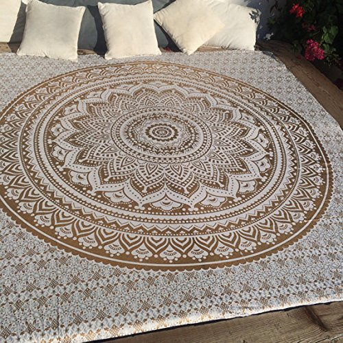 indian-hippie-tie-dye-ombre-mandala-wall-art-tapestry-golden-queen-size-large-84-x-90
