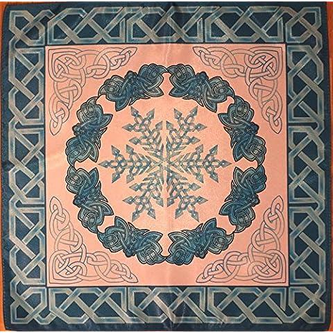 Tovaglie Serie antichi Celti stagioni. Winter - stabilità. Scialle 16х16 Cloth Wicca Pagan Witch