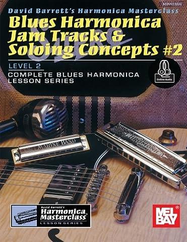 Blues Harmonica Jam Tracks & Soloing Concepts #2 (Harmonica Masterclass Lesson)