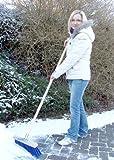 Spezial Schneebesen Winterbesen 35cm mit Stiel 140cm Schneeschieber