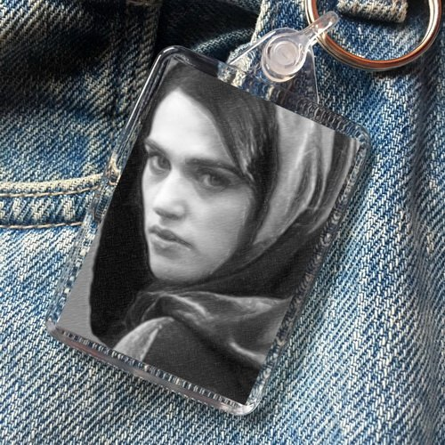 KATIE McGRATH - Original Art Keyring #js005