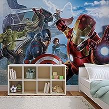 Amazon Fr Papier Peint Avengers