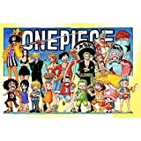 Puzzle, Affiche One Piece, Dessin animé Japonais en Bois One Piece (300/500/1000...
