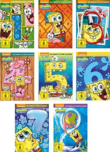 Preisvergleich Produktbild SpongeBob Schwammkopf - Season 1-8 im Set - Deutsche Originalware [26 DVDs]