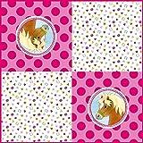 Neu: 20 Servietten * Mein Ponyhof * für Kindergeburtstag und Motto-Party | Pferde Pony Ponies Reiten Kinder Geburtstag Feier Motto Mädchen Napkins