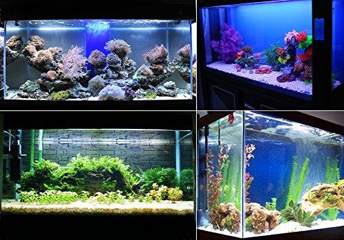 Kasstino 24 LED/48LED Highlighting Aquarium Light Fish Turtle Tank Light Clip Light Lamp (48LEDs) 7
