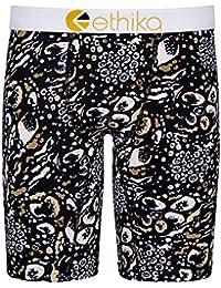 san francisco e65b4 4bd30 Ethika Assorted Wild Skins Boxer Shorts Black