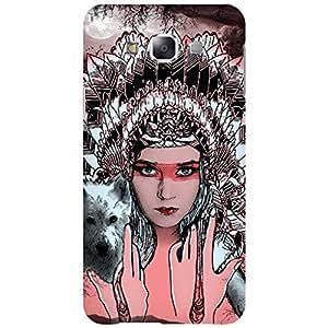 URBAN KOLOURS Original Designer Printed Hard Case Back Cover for Samsung Galaxy E5 (Cleopatra)