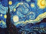 iDream Home Decoration 5D Diamond Painting Rhinestone Van Gogh Starry Night DIY Mosaic