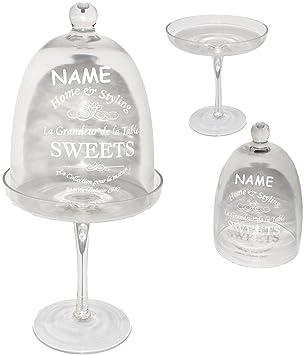 Süßigkeiten & gebäck  1 Stück _ XL Glasglocke -