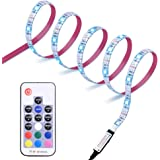 Diyife Retroilluminazione TV LED, [Nuova Versione] LED Striscia ad USB di Lunghezza 2.5M Striscia Luminosa a LED, RGB 5050 Lu