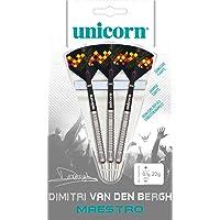 Unicorn Unisex Maestro 90% Tungsten – Dimitri Van den Bergh Dartpfeile, Stahlspitze