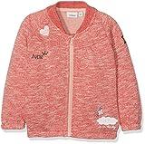 NAME IT Baby-Mädchen Sweatshirt Nitgekke Swe Card F NB, Rosa (Poinsettia Poinsettia), 56
