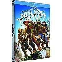 TEENAGE MUTANT NINJA TURTLES (2014) 3D+2D STEELBOOK Blu-Ray (mit deutschem Ton) NEU&OVP