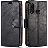 Case Collection Funda de Cuero para Huawei P Smart Z (6,59') Estilo Cartera con Tapa...
