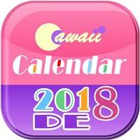 Cawaii DE Kalender 2018-2019
