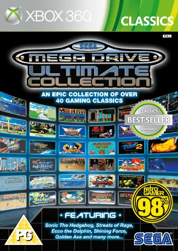 [UK-Import]SEGA Mega Drive Ultimate Collection Game (Classics) XBOX 360 Xbox 360 Arcade-spiele