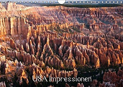 USA Impressionen (Wandkalender 2017 DIN A4 quer): Impressionen aus Kalifornien, New Mexico, Wyoming, Utah und Hawaii (Geburtstagskalender, 14 Seiten ) (CALVENDO Orte) (Yellowstone Park Romantik)