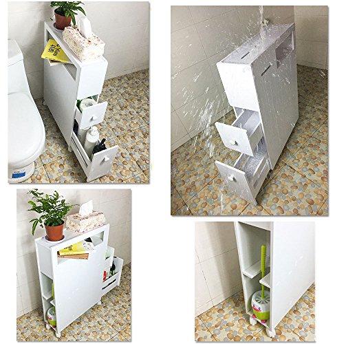 Mobiletto Porta Carta Igienica.Ogori Mobile Ripostiglio Per Bagno Porta Rotolo Carta