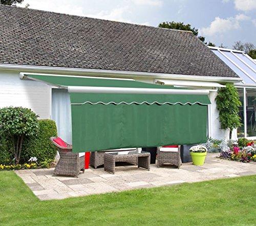Primrose Lambrequin Enroulable Vert pour Store 2m - (Retombée 1m)