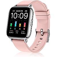 Togala Smartwatch Damen, 1.69 Zoll Touch Fitnessuhr, 24 Sportmodi Fitness Tracker mit Schrittzähler Stoppuhr, IP67…