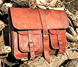 Urbankrafted cuero hombres Messenger Bag Laptop Crossbody negocio maletín bolsa de hombro