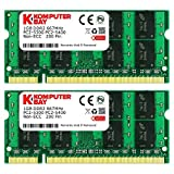 Komputerbay 2GB 2X1GB DDR2 667MHz PC2-5300 PC2-5400 (200 PIN) SODIMM Laptop-Speicher