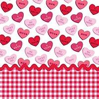 Creative Converting Sweet Greetings Valentine Paper Beverage Napkins 18 Per Pack