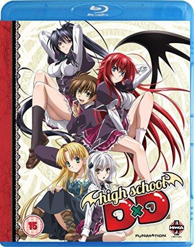 High School D X D - Complete Series (2 Blu-Ray) [Edizione: Regno Unito] [Import italien]