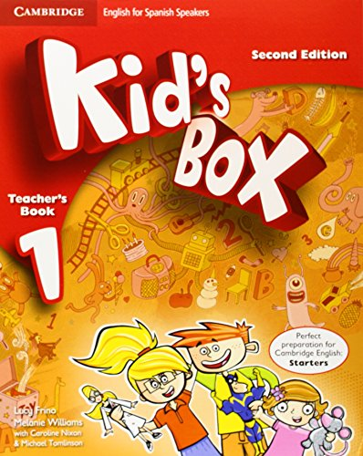Kid's Box for Spanish Speakers Level 1 Teacher's Book Second Edition - 9788483238592
