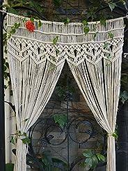 RISEON Macrame Wall Hanging Tapestry- Macrame Door Hanging,Room divider,macrame Curtains,Window Curtain, door curtains, wedd