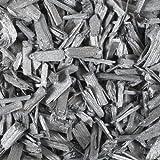 Holzgranulat 5-20mm 1 Liter. Farbe SILBER -92
