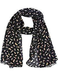 d8c90b372f0b Highgoood Mode Femme Magique Stretch Echarpe Multiple Style Foulards Doux  Châle Cache-Cou Enveloppe à Capuchon Cardigan Etoles…