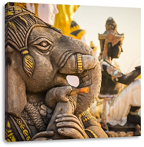 Elefantenherde Afrika Leinwandbilder auf Keilrahmen A06030 Wandbild Poster