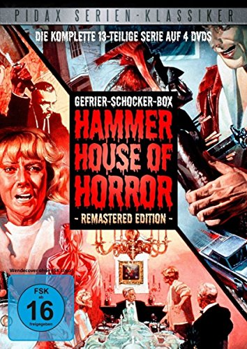 Gefrier-Schocker-Box: Hammer House of Horror - Remastered Edition / Die komplette 13-teilige Horror-Kultserie (Pidax Serien-Klassiker) [4 DVDs] -