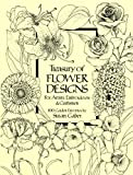Image de Treasury of Flower Designs for Artists, Embroiderers and Craftsmen