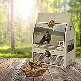 Sano cani Snack | Natura kausnack Vitello Lunge fettarm | Tiera Natural Soft Brocken Lunge